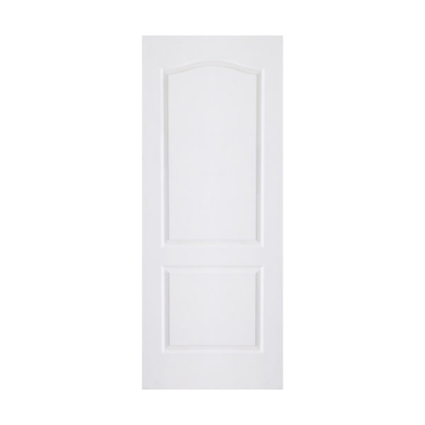 2 Panel Arched Top Door