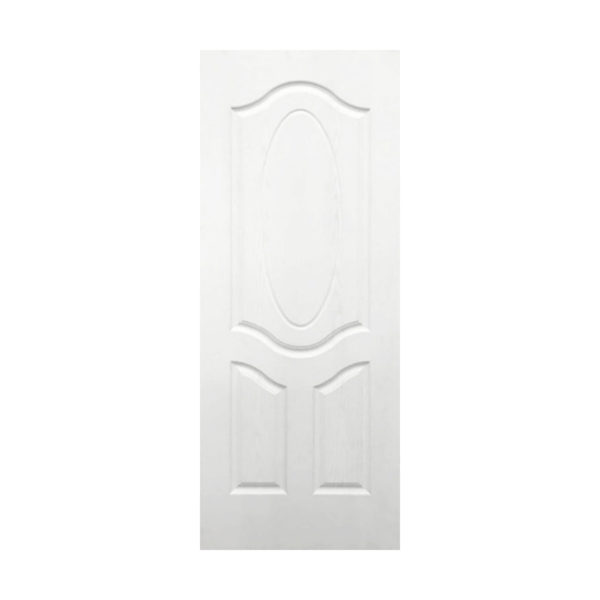 3 Panel Arched Top Oval Door