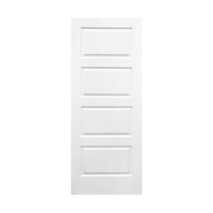 4 Panel Horizontal Square Door