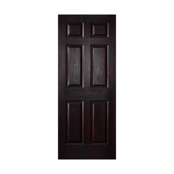 6 Panel Mahogany Door