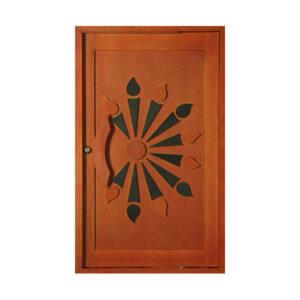 Sunset Pivot Door