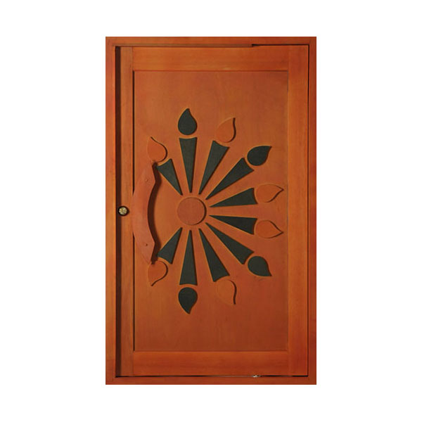 Sunset Pivot Door